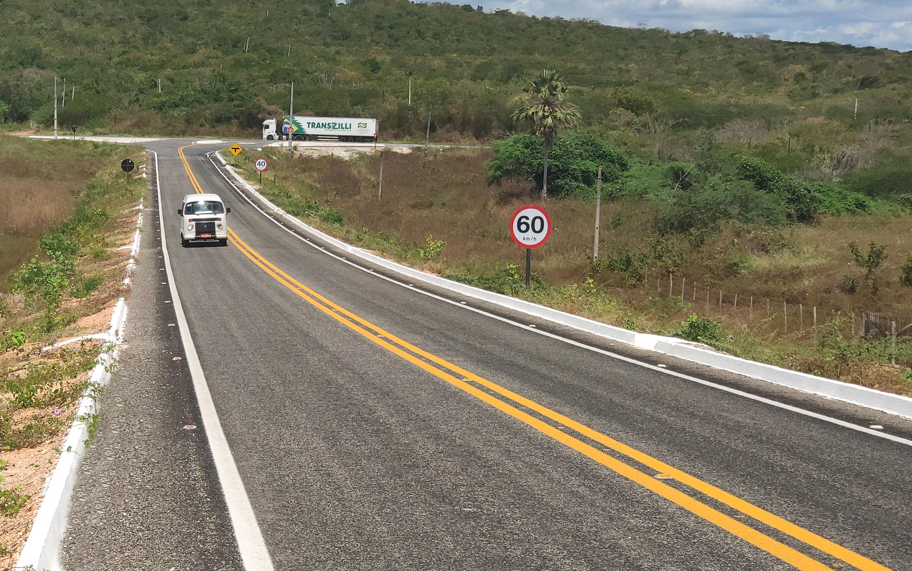 SOP conclui implantação de novos 32 km de rodovia em Beberibe