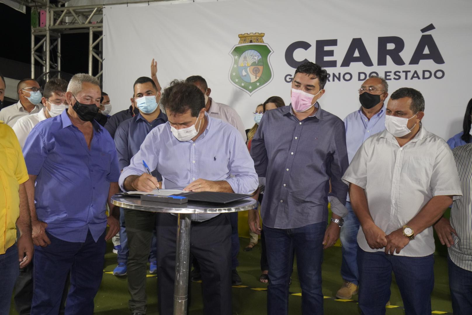 Governo do Ceará autoriza início das obras do Sinalize em Chorozinho