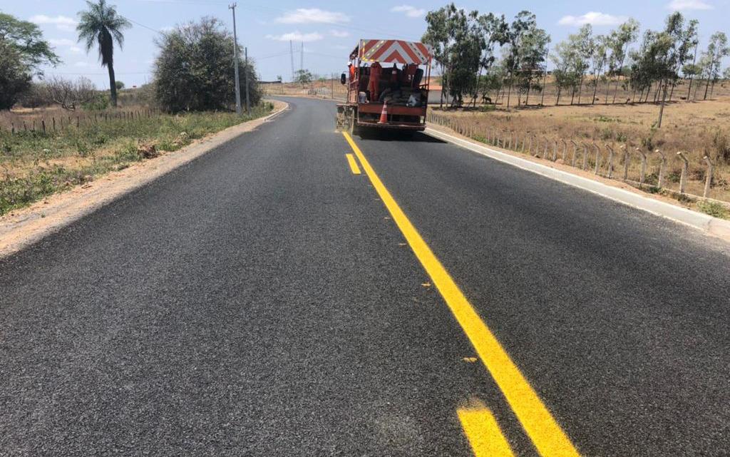 Nova estrada ligando Jardim e Penaforte chega a 80% de execução