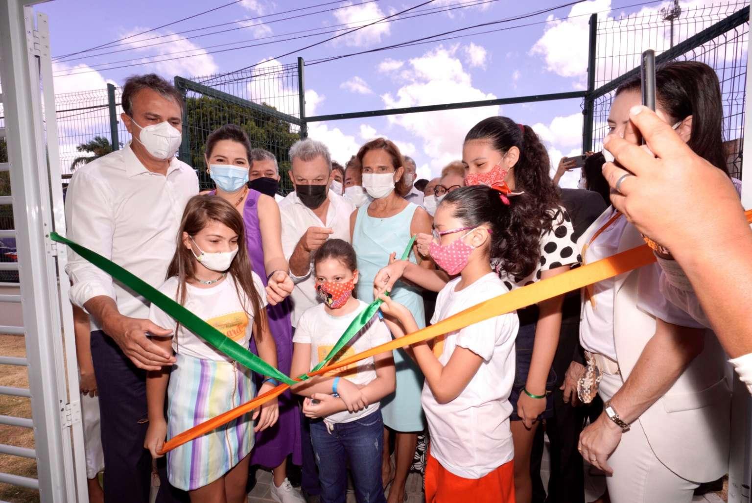 Complexo Mais Infância é inaugurado e vai oferecer lazer e capacitação profissional para comunidades de Fortaleza